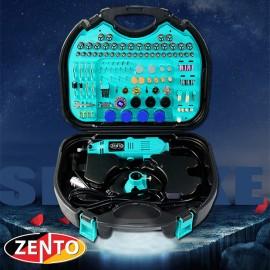 Máy khoan, mài, khắc mini đa năng 252 chi tiết Zento JS10B